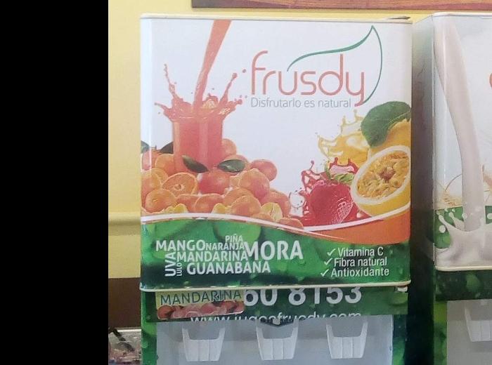 Productos Alimenticios Frutsy