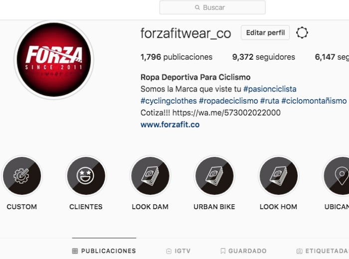 Forza Fit Ropa Deportiva