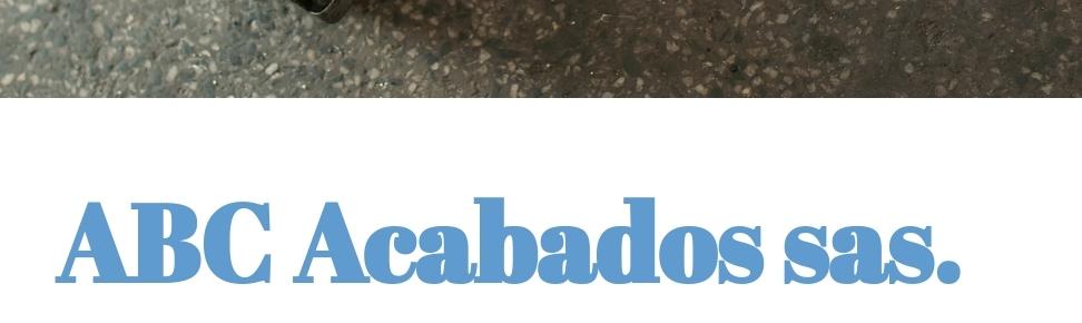 Abc Acabados ltda.